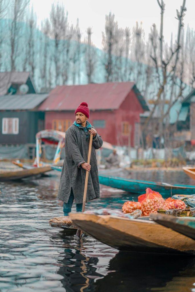 Dal Lake of Kashmir