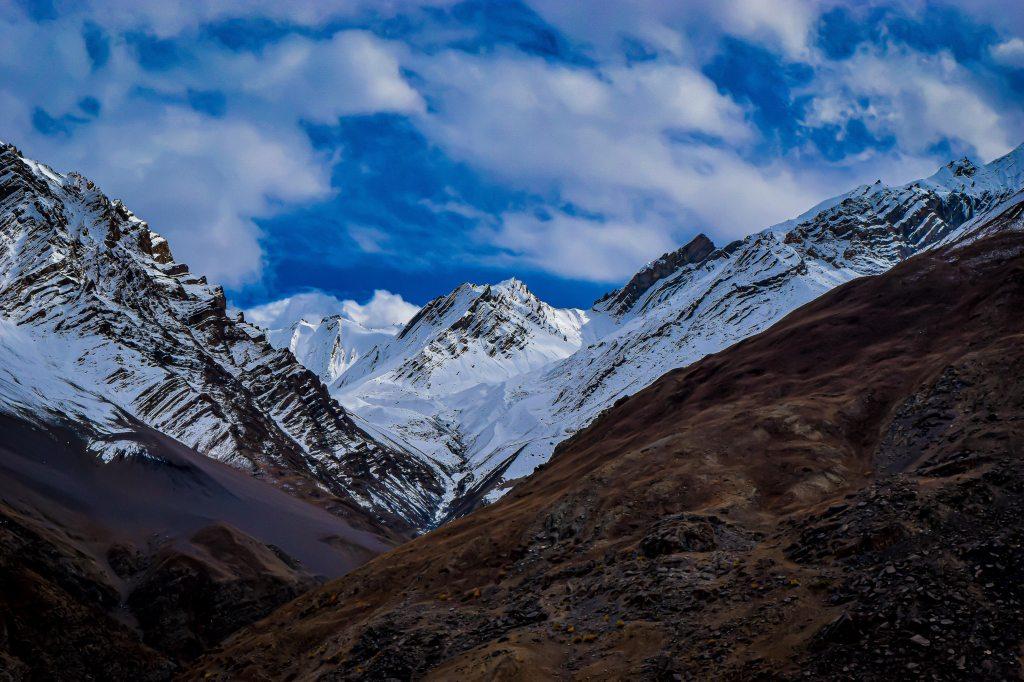 Spiti valley in winters